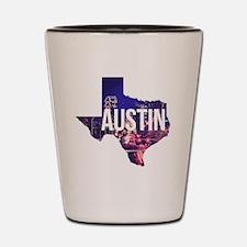 Unique Austin Shot Glass