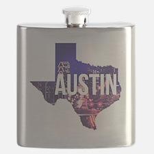 Cute Austin Flask