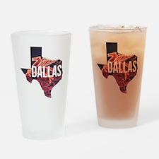 Dallas Pegasus Drinking Glass