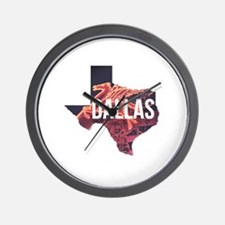 Dallas Pegasus Wall Clock