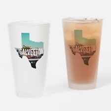 Galveston, Texas Drinking Glass
