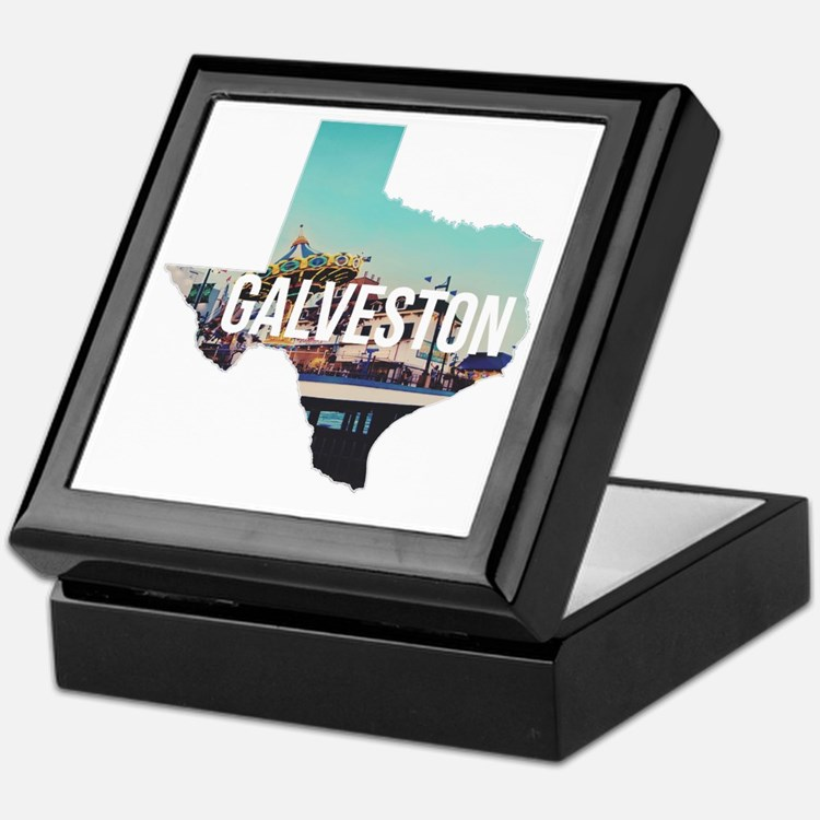 Galveston, Texas Keepsake Box