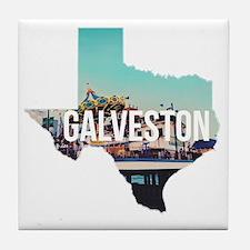 Galveston, Texas Tile Coaster