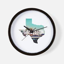 Galveston, Texas Wall Clock