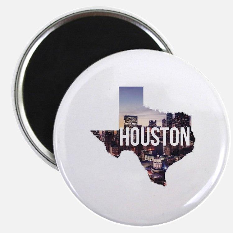 Houston, Texas Magnet
