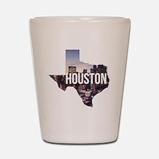 Houston, Texas Shot Glass