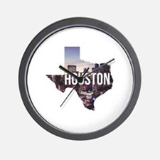 Houston, Texas Wall Clock