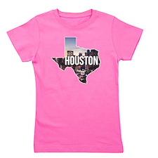 Houston, Texas Girl's Tee
