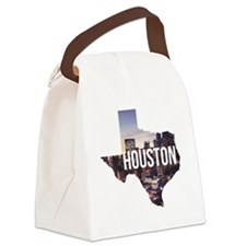 Houston, Texas Canvas Lunch Bag