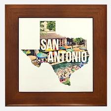 San Antonio Riverwalk, Texas Framed Tile