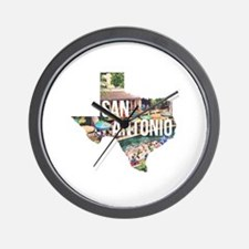 San Antonio Riverwalk, Texas Wall Clock