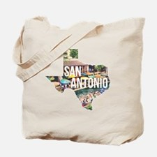 San Antonio Riverwalk, Texas Tote Bag