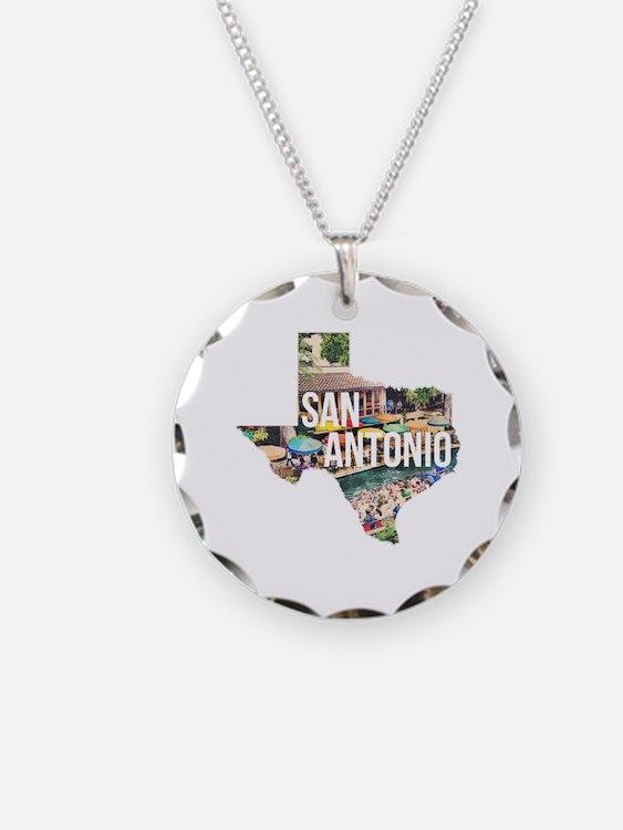San Antonio Riverwalk, Texas Necklace