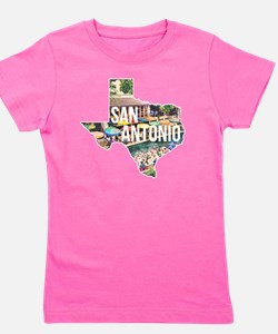 San Antonio Riverwalk, Texas Girl's Tee