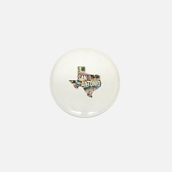 San Antonio Riverwalk, Texas Mini Button