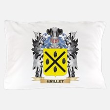 Grillet Coat of Arms - Family Crest Pillow Case