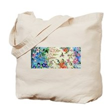 HUMMINGBIRD_STAINED_GLASS Tote Bag