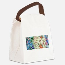 HUMMINGBIRD_STAINED_GLASS Canvas Lunch Bag