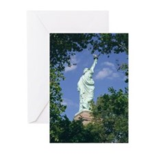 Liberty through the trees (Pk of 10 cards)