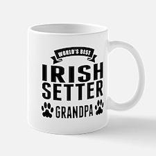 Worlds Best Irish Setter Grandpa Mugs