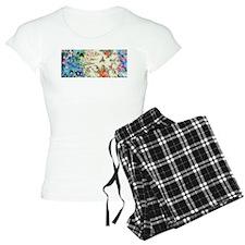 HUMMINGBIRD_STAINED_GLASS Pajamas