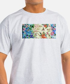 HUMMINGBIRD_STAINED_GLASS T-Shirt