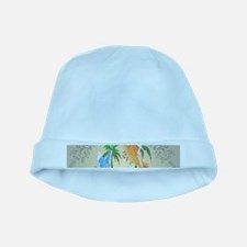 Cute budgerigars baby hat