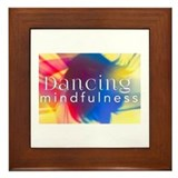 Dancing mindfulness Framed Tiles