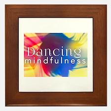 Dancing Mindfulness Framed Tile