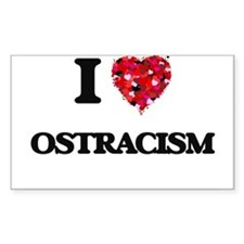 I Love Ostracism Decal