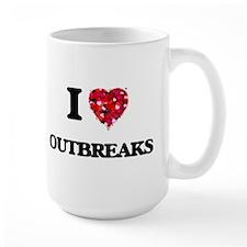 I Love Outbreaks Mugs