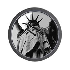 Statue of Liberty, New York:  Patriotic Wall Clock