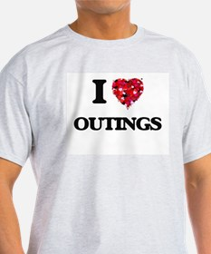 I Love Outings T-Shirt
