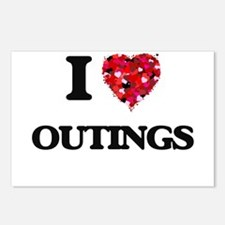 I Love Outings Postcards (Package of 8)