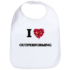 I Love Outperforming Bib