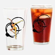 Black Coffee Drinking Glass