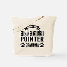 Worlds Best German Shorthaired Pointer Grandma Tot