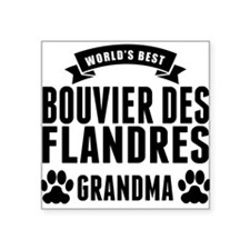 Worlds Best Bouvier des Flandres Grandma Sticker