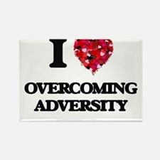 I Love Overcoming Adversity Magnets