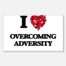 I Love Overcoming Adversity Decal