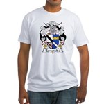 Esmeraldo Family Crest Fitted T-Shirt