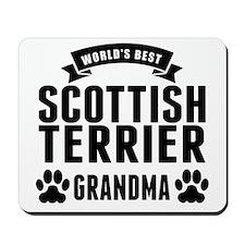 Worlds Best Scottish Terrier Grandma Mousepad