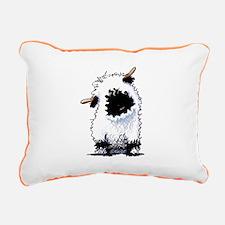 Valais Blacknose Sheep Rectangular Canvas Pillow