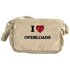 I Love Overloads Messenger Bag