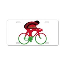 Malawi Cycling Aluminum License Plate