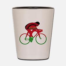 Malawi Cycling Shot Glass
