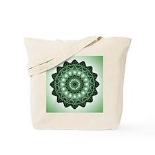 Cute Yoga heart chakra Tote Bag