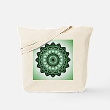 Cool Yoga heart chakra Tote Bag