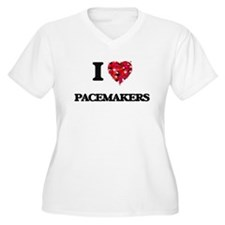 I Love Pacemakers Plus Size T-Shirt