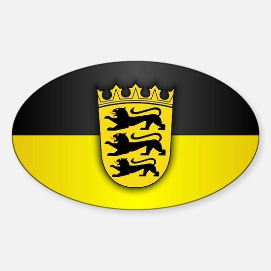 Unique Stuttgart germany Sticker (Oval)